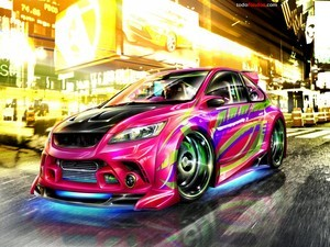 Colorist car tuning
