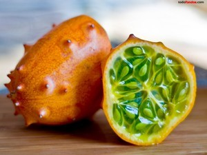 African horned cucumber or melon