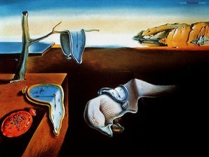 Soft watches (or The persistence of memory) by Salvador Dalí