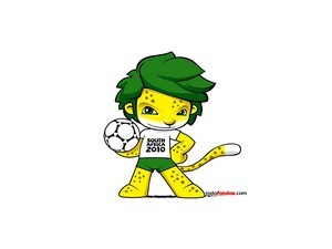 Zakumi, the mascot of 2010 World Cup (South Africa)
