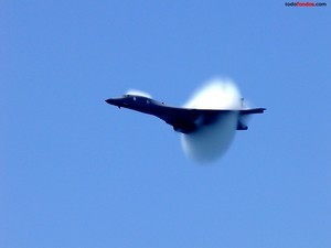 Crossing the sound barrier
