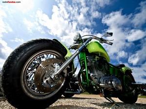 Harley Davidson in perspective