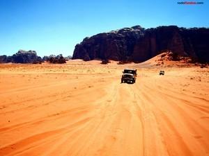 Wadi Rum desert (Jordania)