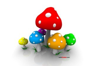 Color mushrooms