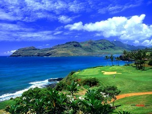 Hawaii golf course