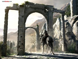 Assassin's Creed, rode among ruins