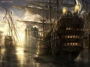Ancient warships