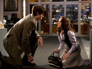"Clark Kent (Brandon Routh) and Lois Lane (Kate Bosworth) in ""Superman Returns"""