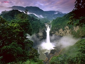 San Rafael Falls (Ecuador)