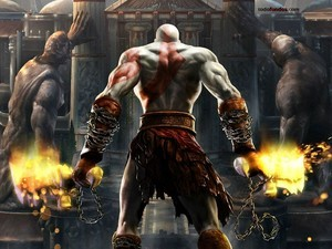 Kratos back (God of War)