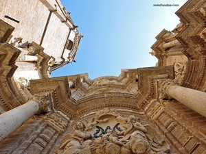 An impressive view of Valencia's Cathedral