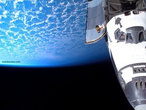 The Earth from the shuttle Endeavour