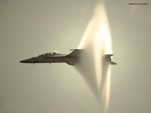 Hunting breaking the sound barrier