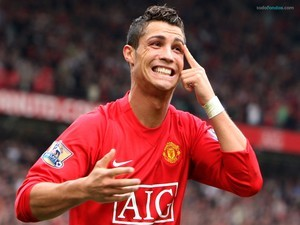 Cristiano Ronaldo (player of Manchester United)