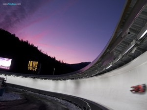 Luge, winter olympic sport
