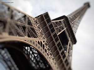 The Eiffel Tower in perspective