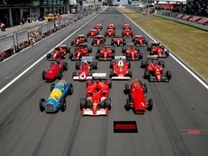 Cars Ferrari Formula 1 of all time