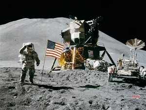 Apollo 15 in the Moon