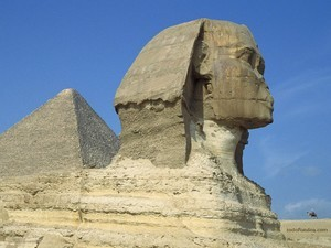 The Great Sphinx of Giza (Cairo, Egypt)