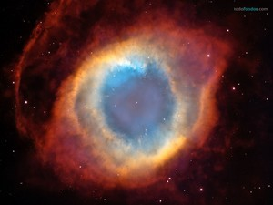 """Helix Nebula (""""Eye of God"""", """"The Helix"""", or NGC 7293)"""
