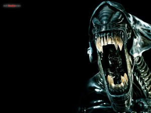 The jaws of the Alien