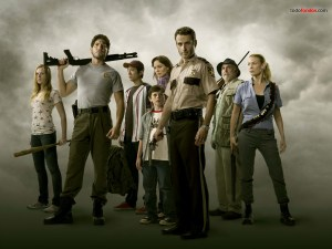 "Protagonists of ""The Walking Dead"""