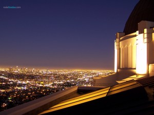 View of Los Angeles, California, from the Griffith Observatory