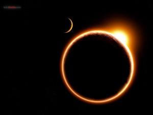 A virtual eclipse