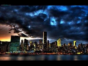 Panoramic of New York City