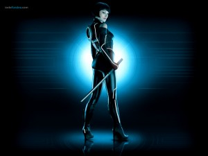 Quorra (Olivia Wilde) in Tron Legacy