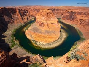 """Horseshoe Bend"", in the Colorado River (Arizona)"