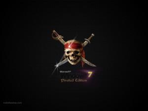 Microsoft Windows 7 Pirated Edition