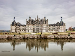 The royal Château de Chambord (France)