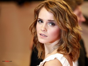 British actress Emma Watson