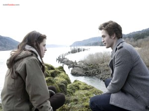 Kristen Stewart and Robert Pattinson (The Twilight Saga)