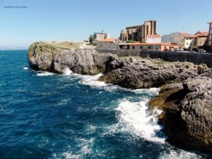 Castro Urdiales, in Cantabria (Spain)
