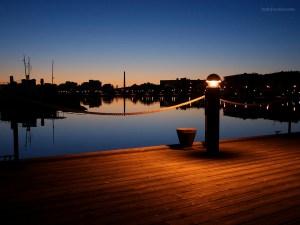 Harbour of Lahti (Finland)