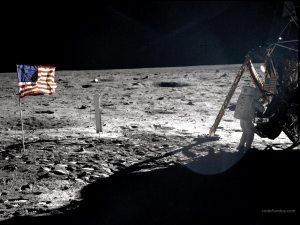 Apollo 11 Mission in the Moon