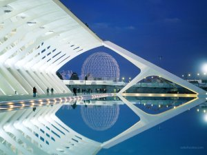 The City of Arts and Sciences (Valencia, Spain)