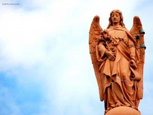 Angel and Sky
