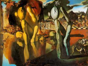 La Metamorfosis de Narciso (Salvador Dalí)