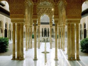 The Alhambra of Granada (Spain)