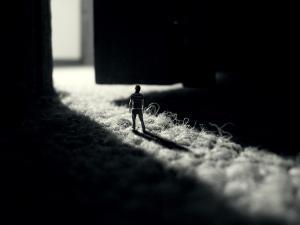 Person in miniature
