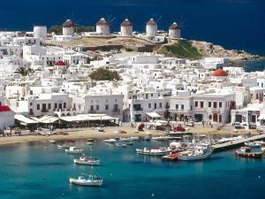 Mykonos, a Greek island