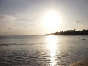 Sunset in the beach of Cienfuegos (Cuba)