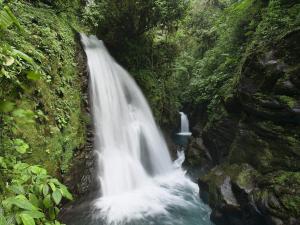 A pair of waterfalls