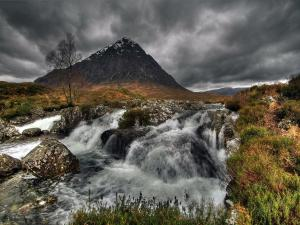 Glen Etive, a glen in the Highlands of Scotland