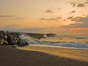 Coast of Misawa, Japan