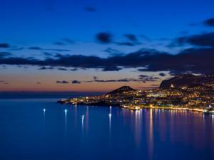 Funchal Bay on Madeira Island, Portugal