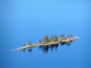Island in Pielinen Lake (Finland)